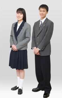 新島学園高等学校制服画像